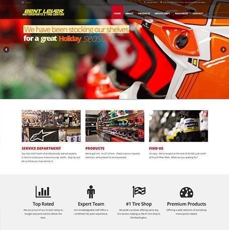 Bent Lever website