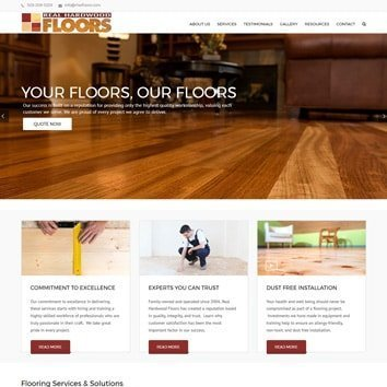 Real Hardwood Floors