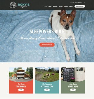 New website for Roxys Dog Ranch