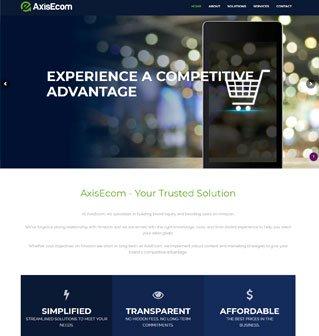 Axis Ecom Website