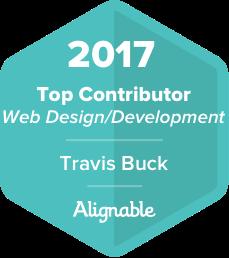 top web design contributor award