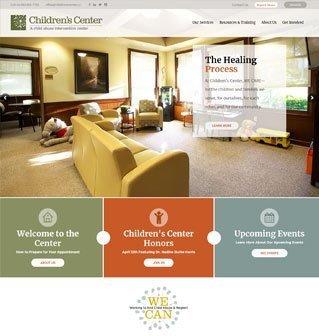 Website Design for Childrens Center