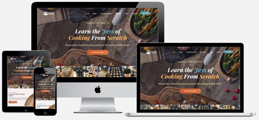 collaboration kitchen site on computers