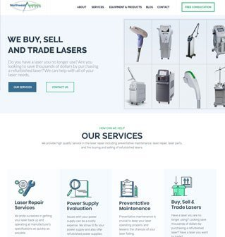 fet laser website