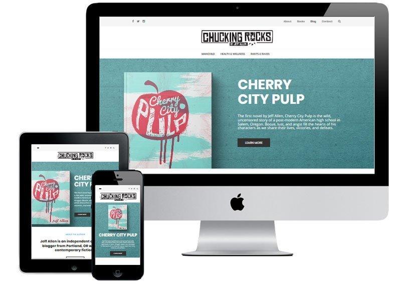 chucking rocks website