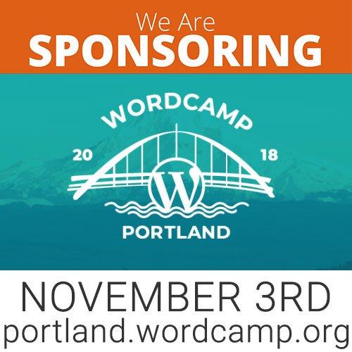 wordcamp portland sponsor