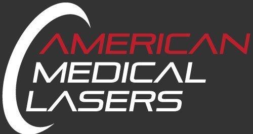 medi laser logo on black